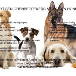 Knuffelhonden gezocht!